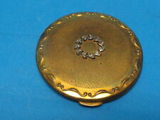 VINTAGE KIGU COMPACT WITH BEAUTIFUL ORNAMENTAL CREST