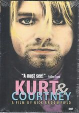 Kurt and Courtney (DVD, 1999) - FACTORY SEALED!  - Nirvana - Cobain
