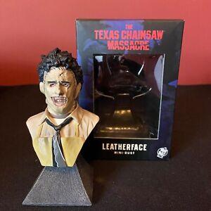 Trick or Treat Studios LEATHERFACE Mini Bust NEW Texas Chainsaw Massacre