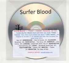 (HE573) Surfer Blood, Feast - Famine - DJ CD