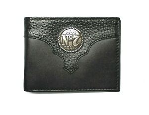 Jack Daniels Old # 7 Leather Bill Fold Wallet