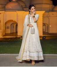 Listo Anarkali Vestido Salwar Kameez Traje Indio Mujer Diseño Fiesta Ropa Nuevo