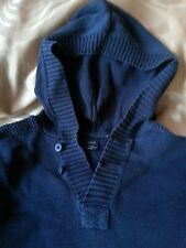 GAP Boys' Dark Blue Hoodie, 12-14 y.o. Pure cotton. Very comfy and soft Kinitted