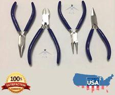 Plier Kit NEW Making Plier Set of 4 Hobby Craft Beading Jewelry Repair Tool DIY