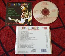 JIMI HENDRIX **Todos Sus Exitos** VERY RARE & ORIGINAL 1994 Spain ORIGINAL CD