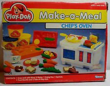 KENNER TONKA PLAY DOH VTG 1991 MAKE A MEAL CHEF'S OVEN EUROPEAN NEW MIP VHTF