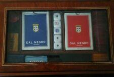 cofanetto carte da gioco dal negro
