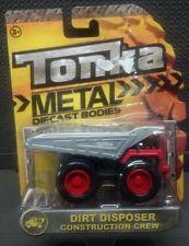 TONKA METAL DIECAST BODIES DIRT DISPOSER CONSTRUCTION CREW  DUMP TRUCK
