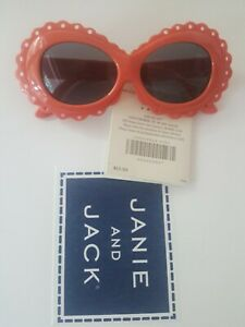 janie and jack NWT RARE pink sunglasses 2 3 4 5 6 new