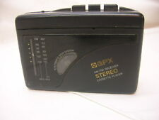 GPX Am/Fm Receiver Stereo Cassette Player Portable with Earbuds Batteries Workin