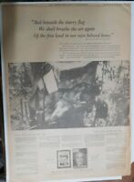 World War Two Ad !: Time Magazine Soldiers Lament from 1943 Size: 15 x 22 inches