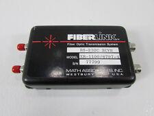 MATH ASSOCIATES INC.FIBERLINK XR-1100 / 6794 RECIEVER
