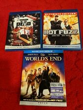 Shaun of the Dead, Hot Fuzz, Worlds End Blu Ray
