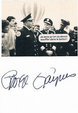 George Gaynes 1917-2016 autograph signed card 4