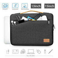 """13"""" 15"""" Laptop Notebook Handbag Sleeve Carry Case Cover Bag For MacBook HP Dell"""