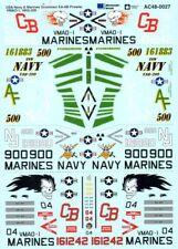 Microscale Adhesivos 1/48 Marina de los Eeuu & Grumman Ea-6b Prowler #Ms48027