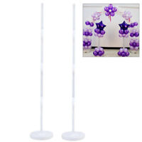 5pcs Balloon Column Arch Base Upright Pole Display Stand Party Wedding Decor UK