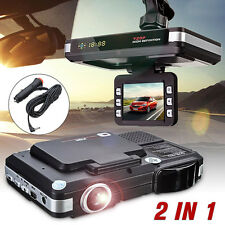2 in 1 MFP 5MP Car DVR Recorder +Radar Laser Speed Detector Trafic Alert Device