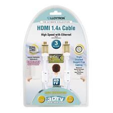 Lloytron A2003 3.0m Ultimate Collection HDMI 1.4a 3D-TV-HD-Kabel mit vergoldeten