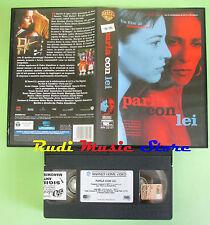 film VHS PARLA CON LEI 2002 Pedro Almodovar Camara Watling WARNER (F69*) no dvd