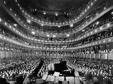 Musique Metropolitan Opera House New York auditorium Poster Art Print bb3203a