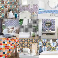 Tile Sticker Transfer Traditional Kitchen Bathroom 20*20cm Wall sticker 6/12X EU