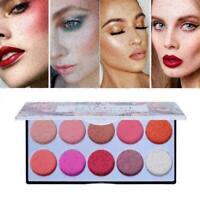 POPFEEL10 Farben Matte Blush Palette