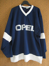 Maillot Hockey Opel marine Bordeaux Tackla 80'S Jersey Ice Vintage - L