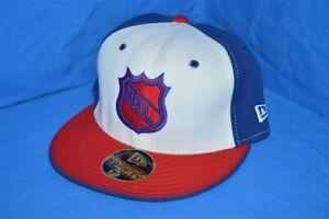 NHL HOCKEY NEW YORK RANGERS RED WHITE BLUE NEW ERA WOOL FITTED HAT CAP 7 1/4