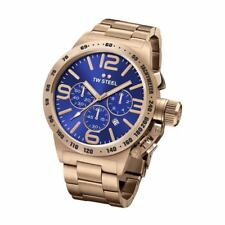 TW Steel CB183 Mens Rose Gold 45mm Canteen Watch - 2 Years