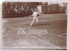 ANTHONY WILDING Tennis Davis Wimbledon Australie 1900s