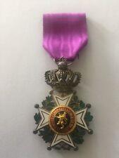 Belgium Order of Leopold medal