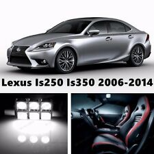 16pcsLED Xenon White Light Interior Package Kit for Lexus Is250 Is350 2006-2015