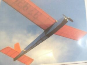 BMJR Sky Demon 24 inch 600mm WS E.P Free Flight Balsa Laser Cut Kit Convr to RC?