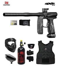 Maddog Empire Axe 2.0 Beginner Protective Hpa Paintball Gun Package Dust Black