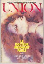 Union n°34- 1975 : Une lesbienne s'adresse aux hommes