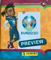 Panini UEFA Euro 2020 Preview. 528 stickers version Empty Album