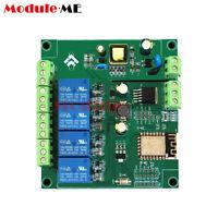 AC/DC ESP8266 WIFI 4 Channels Relay Module ESP-12F Development Board
