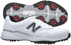 New Balance NBG1701 White/Black Golf Shoes Mens Waterproof New