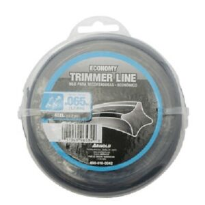 Arnold 2 Pack, .065 x 40', Black Trimmer Line, 2 Refills
