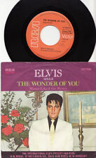 Elvis Presley Pop 45 RPM Speed Vinyl Records