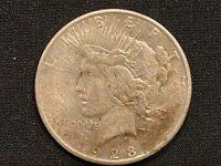 1923 S 90% Silver Peace Dollar (#150)