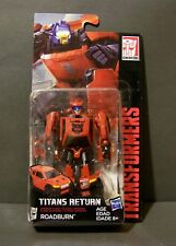 CUSTOMIZED titans return ROADBURN cliffjumper redbug hubcap g1 g2 MOC