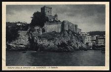 cartolina LA SPEZIA golfo-s.terenzo-il castello