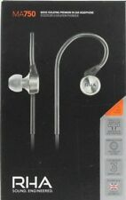 RHA MA750 Geräuschisolierender Im-Ohr-Kopfhörer mit Ohrhaken - NEU inkl. MwSt