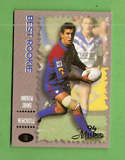 1994 MASTERS RUGBY LEAGUE CARD #51  ANDREW JOHNS, NEWCASTLE KNIGHTS