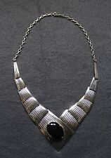 Sterling Design Collier mit schwarzem Onyx Stein