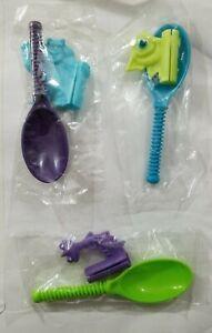 Kellogg's Disney Monsters Inc. 2001 Mike Wazowski Sulley Randall Spinning Spoons