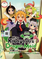 Miss Kobayashi's Dragon Maid DVD (1-12) - Japanese Ver. (Anime) - US Seller