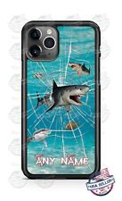 Shark Break out Personalized Phone Case Cover For iPhone 11Pro Samsung LG etc